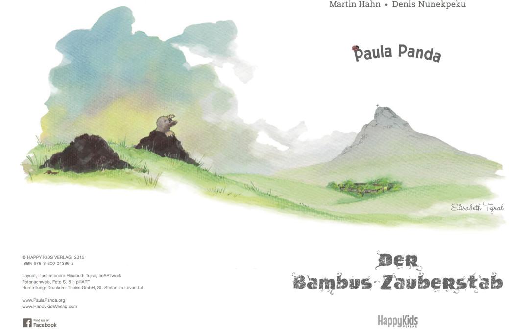 Paula Panda - Der Bambus-Zauberstab - Seite 2 & 3 - ©PaulaPanda.org