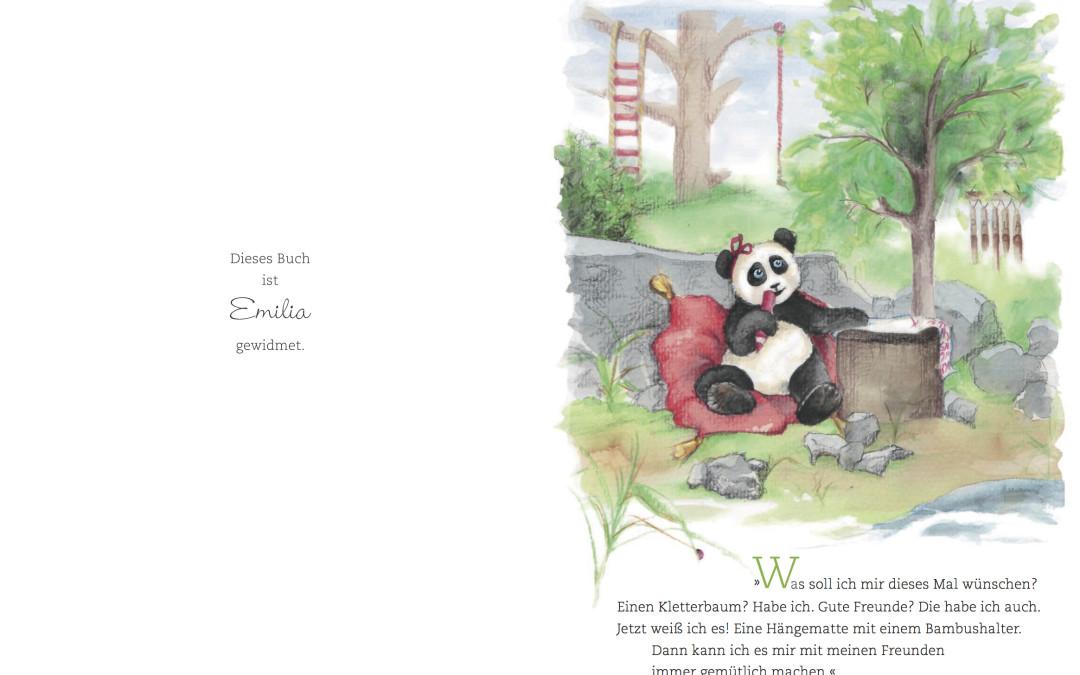 Paula Panda - Der Bambus-Zauberstab - Seite 4 & 5 - ©PaulaPanda.org