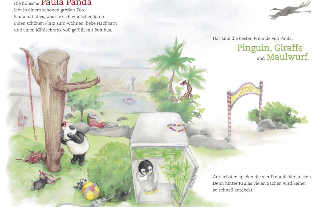 Paula Panda - Der Bambus-Zauberstab - Seite 6 & 7 - ©PaulaPanda.org